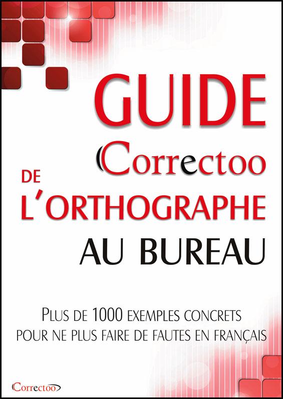 Guide Correctoo de l'orthographe au bureau